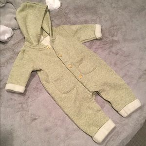 H&M Hooded Jumpsuit